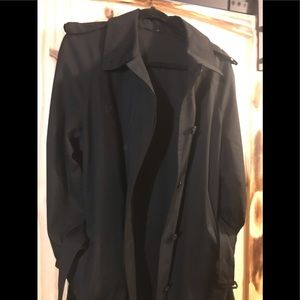 Military Style Trench Coat
